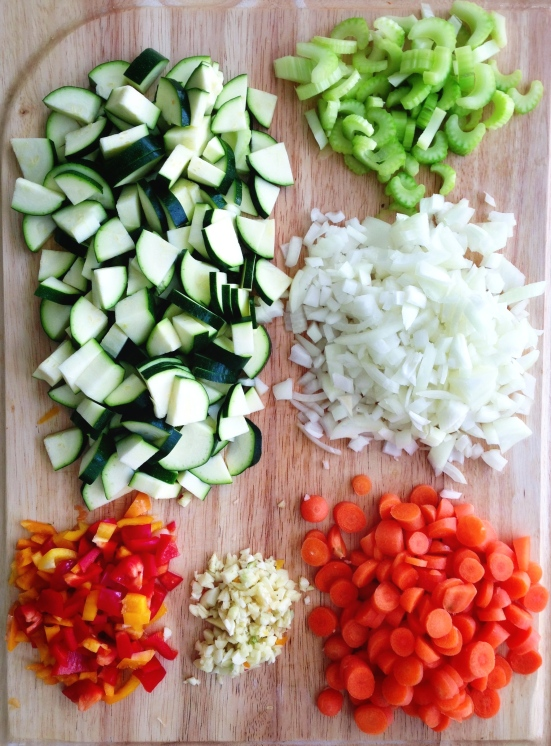 Chopped Chili Veggies